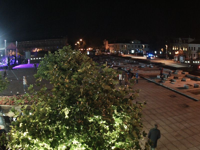 Fontanny na Placu Kościuszki